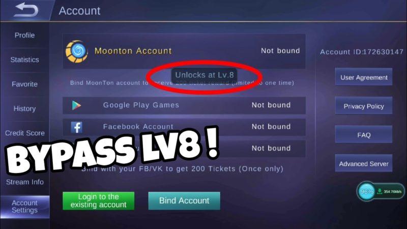 Cara Ganti Akun Mobile Legends Tanpa Menunggu Level 8 Terbaru