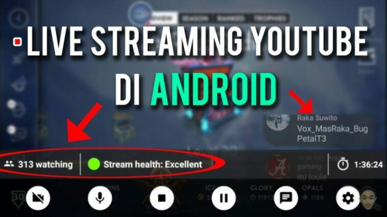 Beginilah Cara Live Streaming Game Di Youtube Menggunakan Android Dengan Mudah! Gamedaim