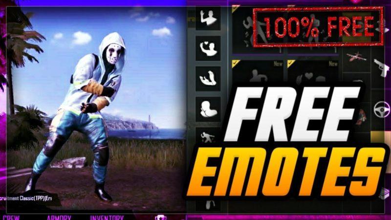 Beginilah Cara Mendapatkan Emote Di PUBG Mobile Dengan Mudah! Gamedaim