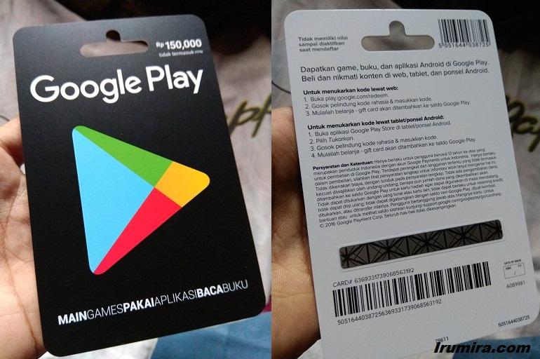 Beginilah Cara Top Up Voucher Google Play Dengan Mudah! Gamedaim