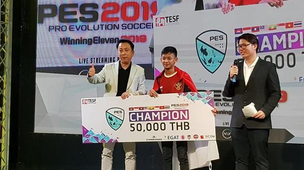 Indonesia Berhasil Menangkan PES Southeast Asia Bangkok Di Thailand! Gamedaim