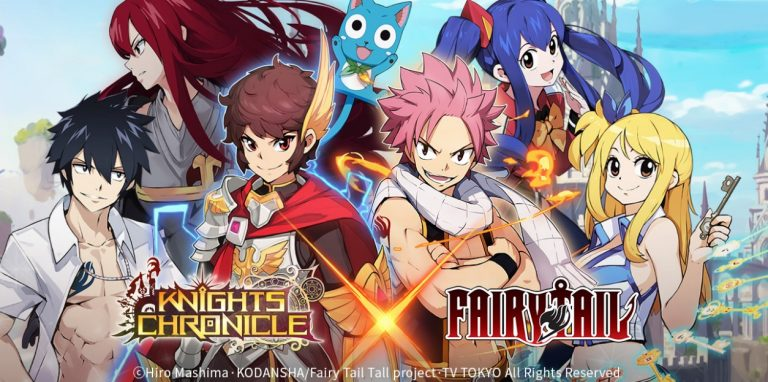NetMarble Resmi Hadirkan Kolaborasi Knights Chronicle Dan Fairy Tail! Gamedaim