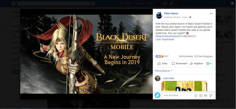 Resmi, Black Desert Mobile Akan Rilis Secara Global Tahun Ini! GD