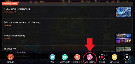 Cara Livestreaming Mobile Legends Di Facebook