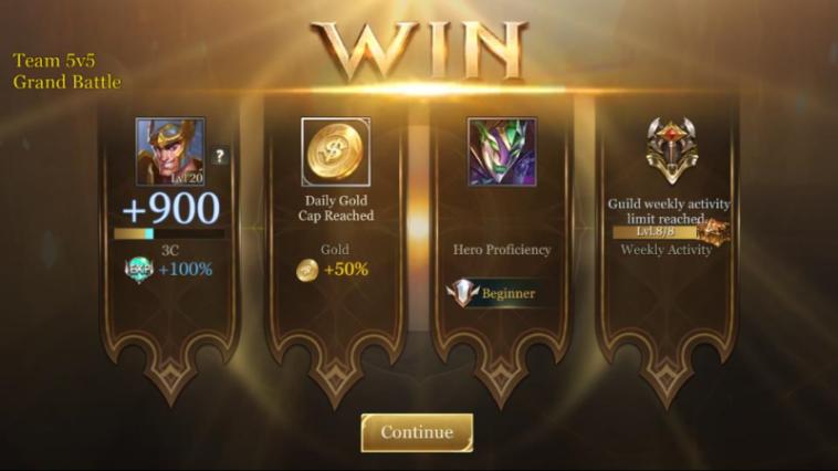 Beginilah Cara Mendapatkan Gold Di Arena Of Valor Dengan Mudah! Gamedaim
