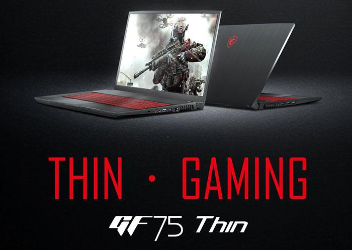 GF75 Shin, Laptop Gaming Terbaru Dari MSI Yang Dibekali NVIDIA GTX 1650!