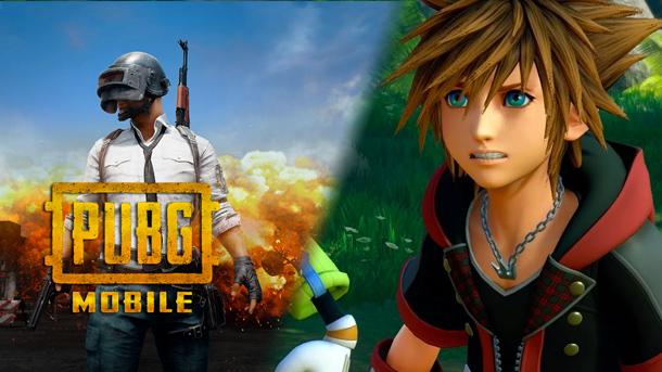 PUBG Mobile Berencana Akan Kolaborasi Dengan Kingdom Hearts 3 Gamedaim