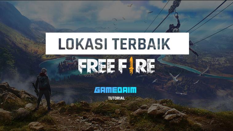 Senjata Dan Perlengkapan, Inilah 5 Lokasi Terbaik Di Free Fire! Gamedaim