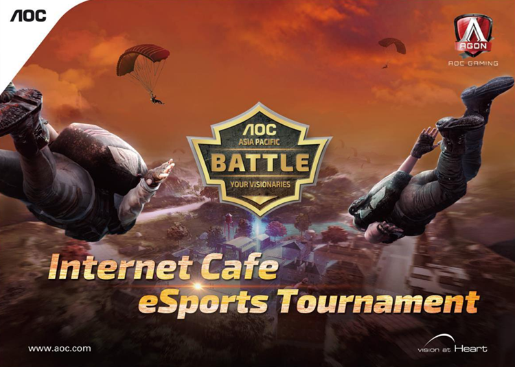 Aoc Internet Cafe Esports Tournament