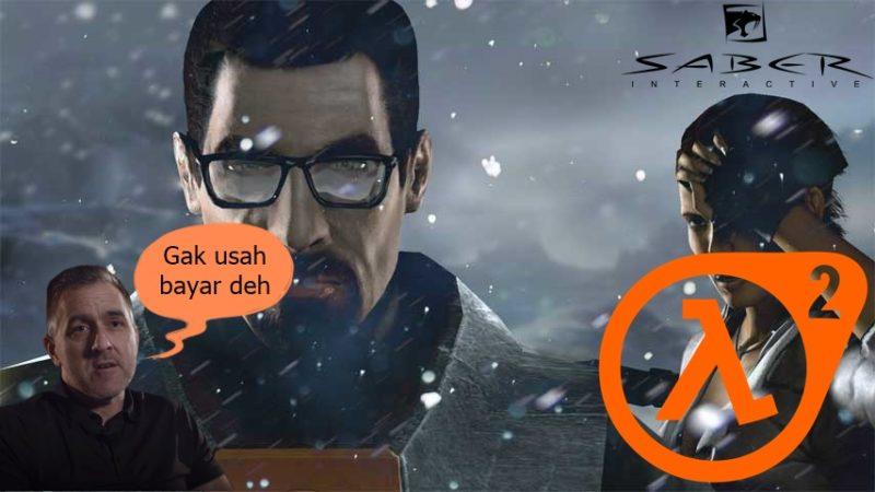 Saber Interactive Half Life 2 Remake