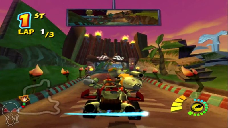 Cheat CTR Crash Team Racing PS2 Lengkap Bahasa Indonesia