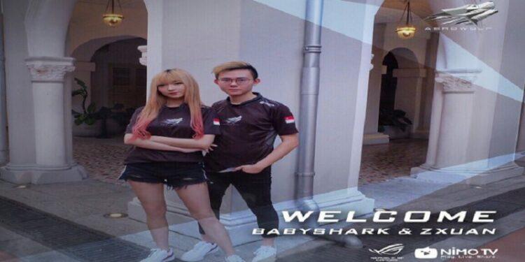 Hengkang Dari BOOM ID, Pasangan Zxuan Dan BabyShark Resmi Gabung Aerowolf! Gamedaim