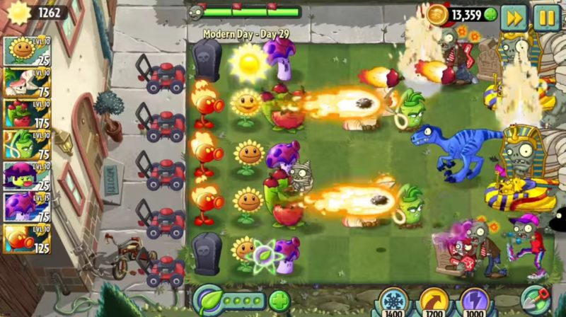 Plants Vs Zombies 2 - Game Strategi Offline Android