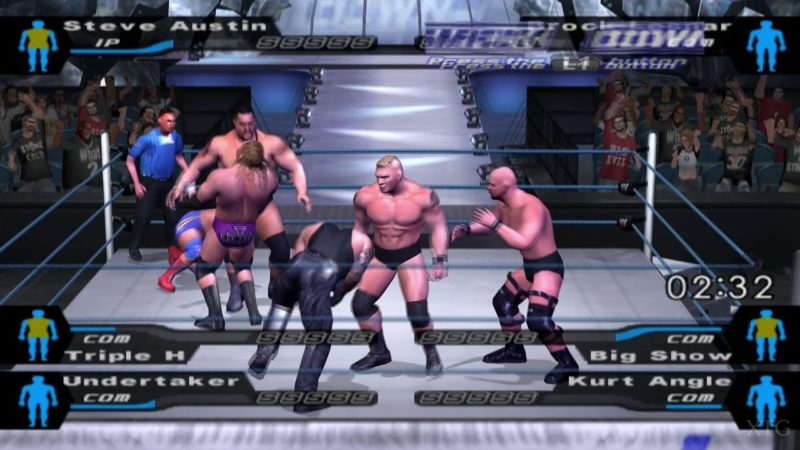 WWE Smackdown Here Comes The Pain - Game PS2 Multiplayer Terbaik