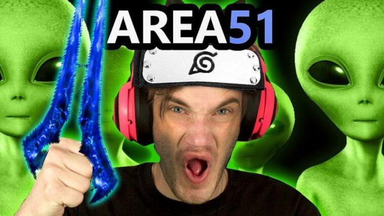 Bahas Meme Area 51, Apakah PewDiePie Akan Ikut Pergi Kesana Gamedaim