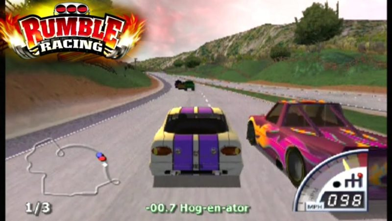 Cheat Rumble Racing PS2 Lengkap Bahasa Indonesia