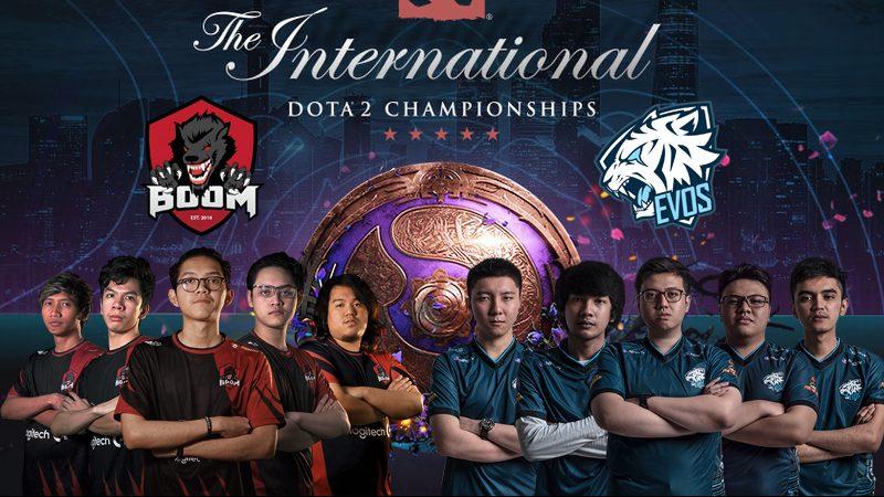 Dua Tim Perwakilan Indonesia, BOOM ID Dan EVOS Esports Gagal Lolos Ke Babak Kualifikasi TI9! Gamedaim