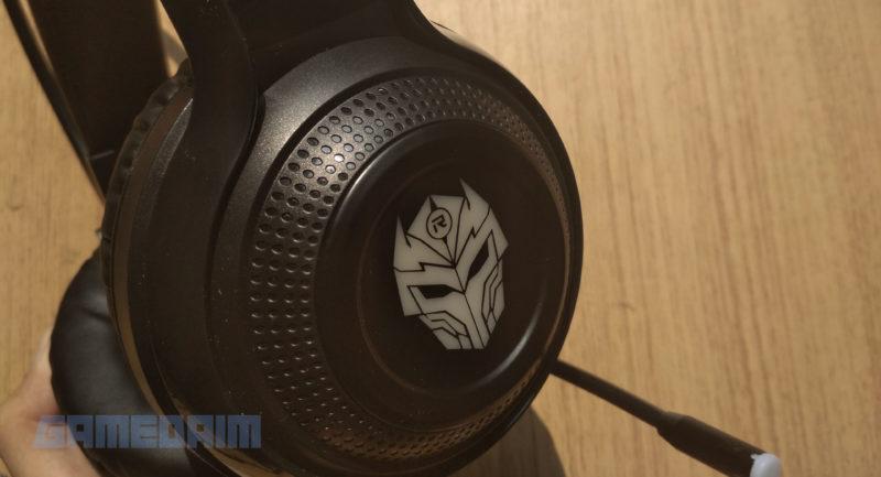 Gamedaim Review Rexus F75 Headset Closeup