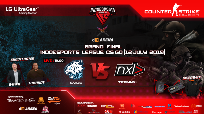 IES LEAGUE EVOS VS NXL