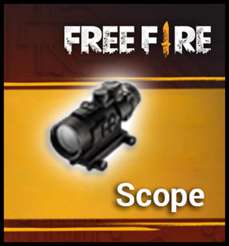 Inilah Kegunaan Dari Semua Attachment Di Free Fire Scope