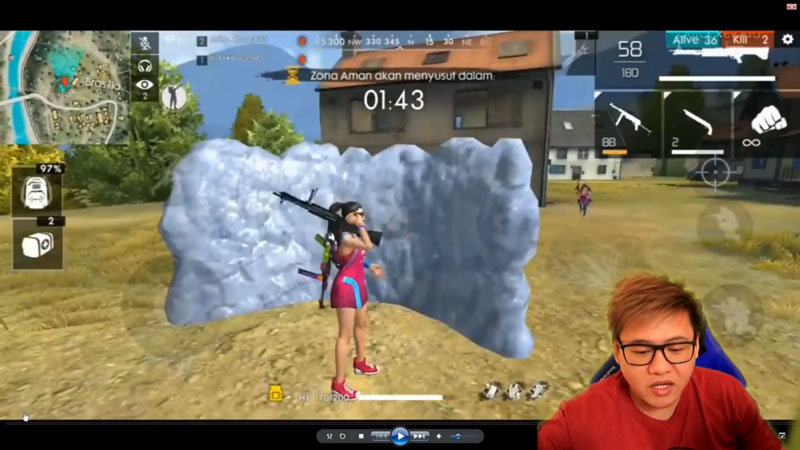 Inilah Rahasia Pro Player Aura Kasih Free Fire Glo Wall