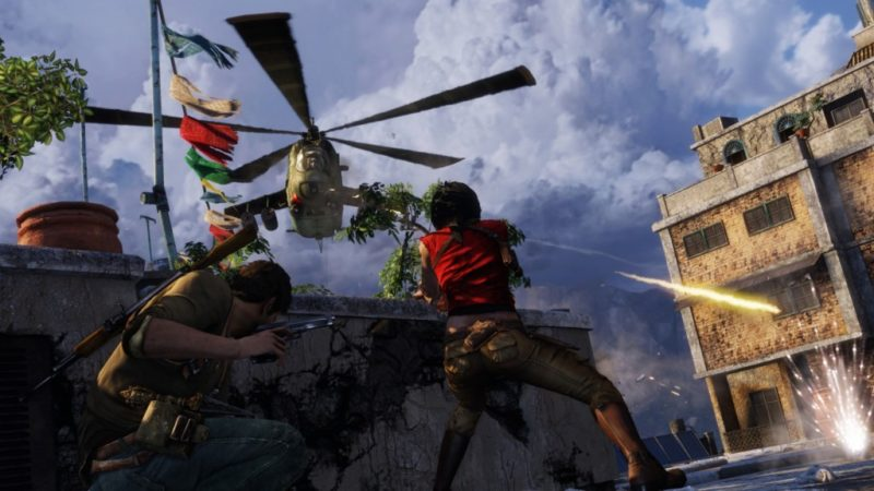 Uncharted 2: Among Thieves - Game PS3 Multiplayer