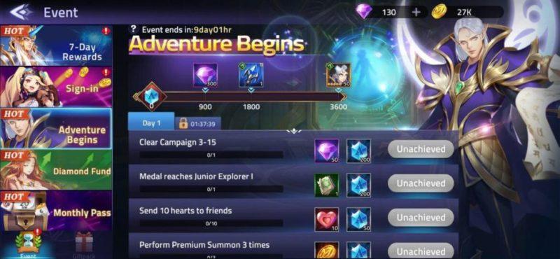 Mobile Legends Adventure Begins