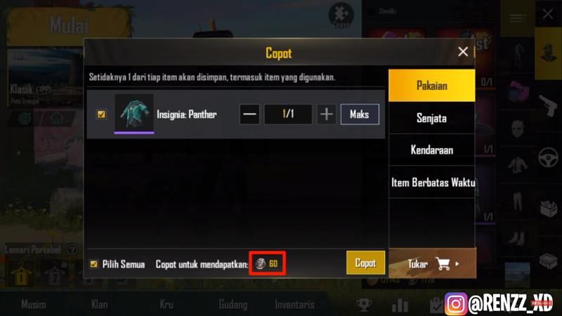 Beginilah Cara Mendapatkan Silver Fragment Dengan Mudah Di PUBG Mobile! Beli