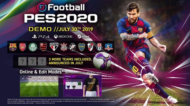 Seperti Full Game Demo PES 2020 Sudah Terbajak Duluan Sebelum Rilis