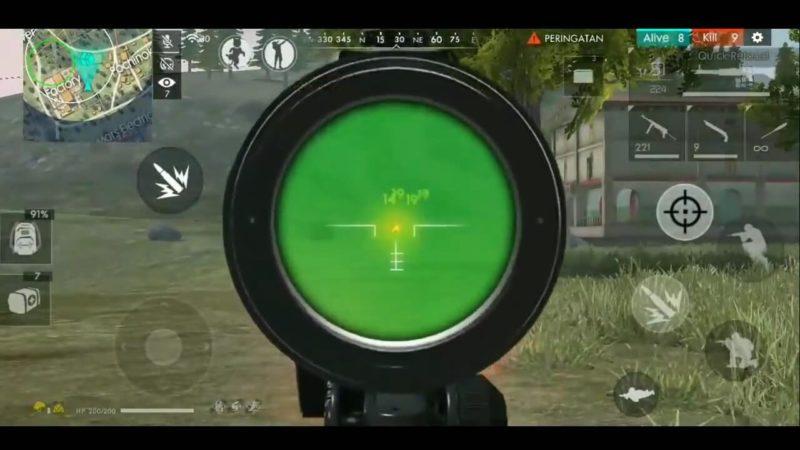 Tips Jitu Menggunakan M60 Sampai Booyah Di Free Fire Scope Ulang