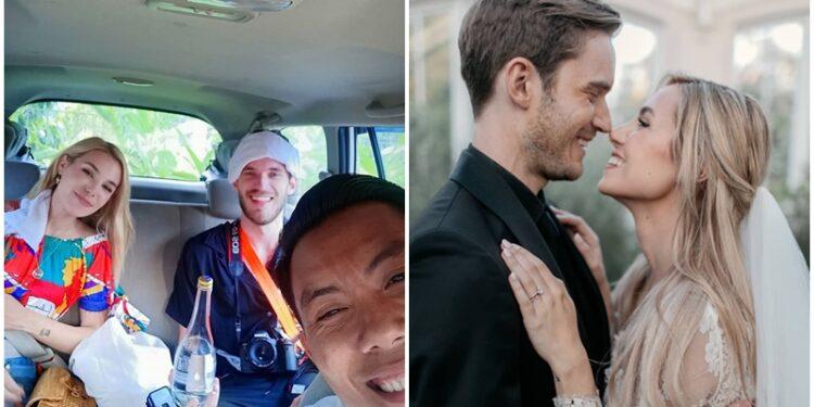 Baru Menikah, PewDiePie Tertangkap Kamera Sedang Bulan Madu Di Bali! Gamedaim