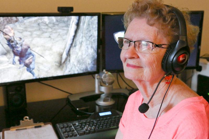 Inilah 5 Gamer Tertua Di Dunia Buktikan Game Tidak Mengenal Usia Shirley Curry