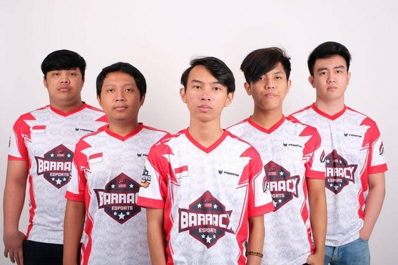 Inilah 5 Tim Esports Dota 2 Terbaik Di Indonesia PG Barrracx