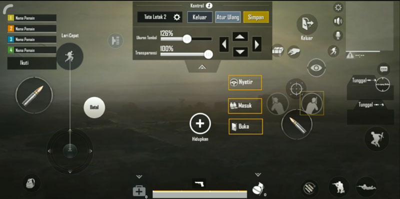 Inilah Settingan HUD PUBG Mobile Dari Bang Alex HUD