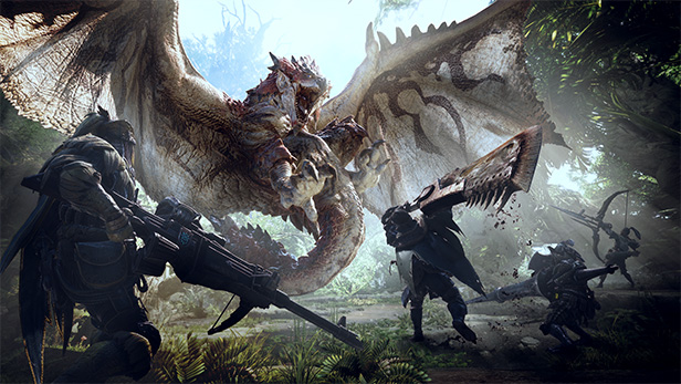 Monster Hunter: World - Game PS4 Multiplayer