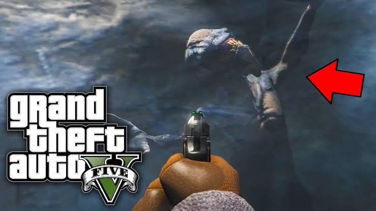 5 Rahasia Terselubung Di GTA V Ada Komunitas Kanibal Alien Beku