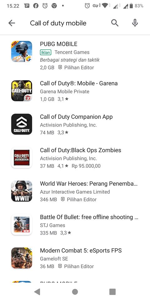 Beginilah Cara Download Call Of Duty Mobile! Mencari