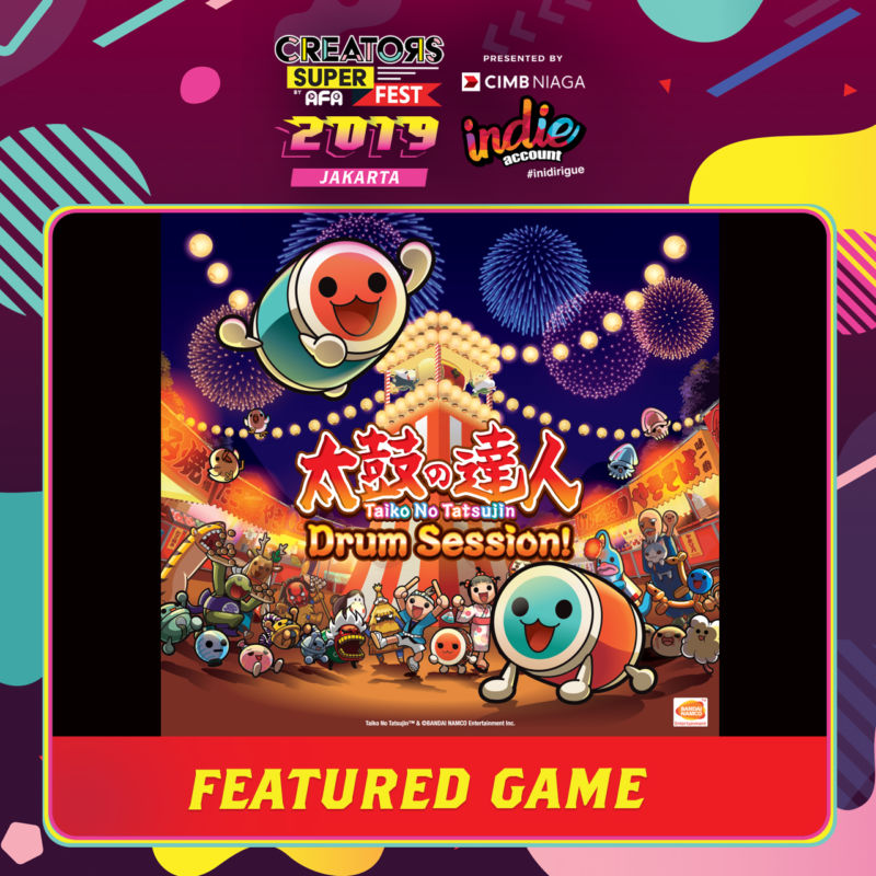 CSF2019JKT Featured Game BANDAI Drum Session