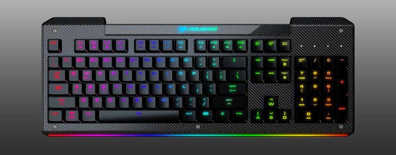 Rekomendasi Keyboard Murah Dibawah 500 Ribu Cougar Aurora 1