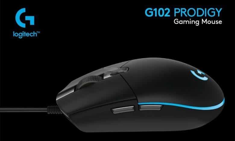 Rekomendasi Mouse Gaming Dibawah 1 Juta Logitech G102