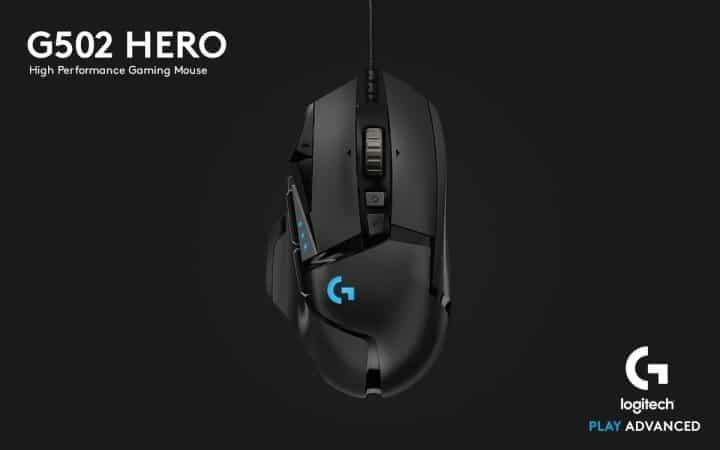 Rekomendasi Mouse Gaming Dibawah 2 Juta Logitech G502 Hero