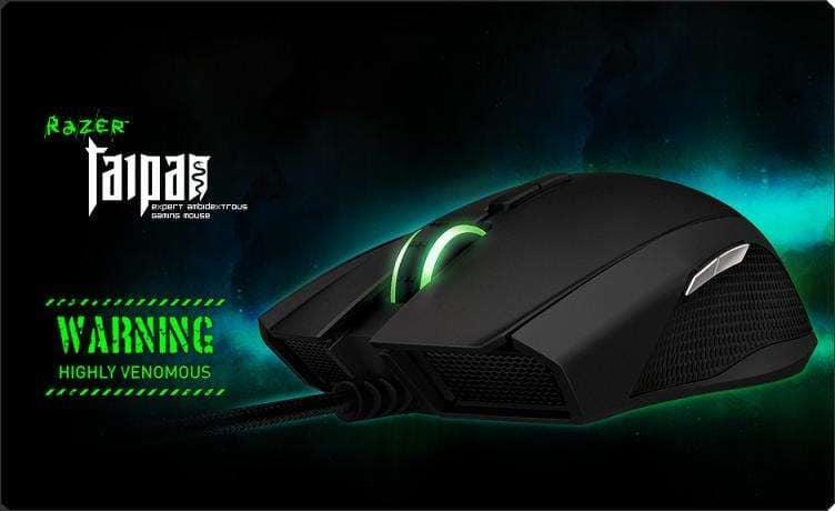 Rekomendasi Mouse Gaming Dibawah 2 Juta Razer Taipan