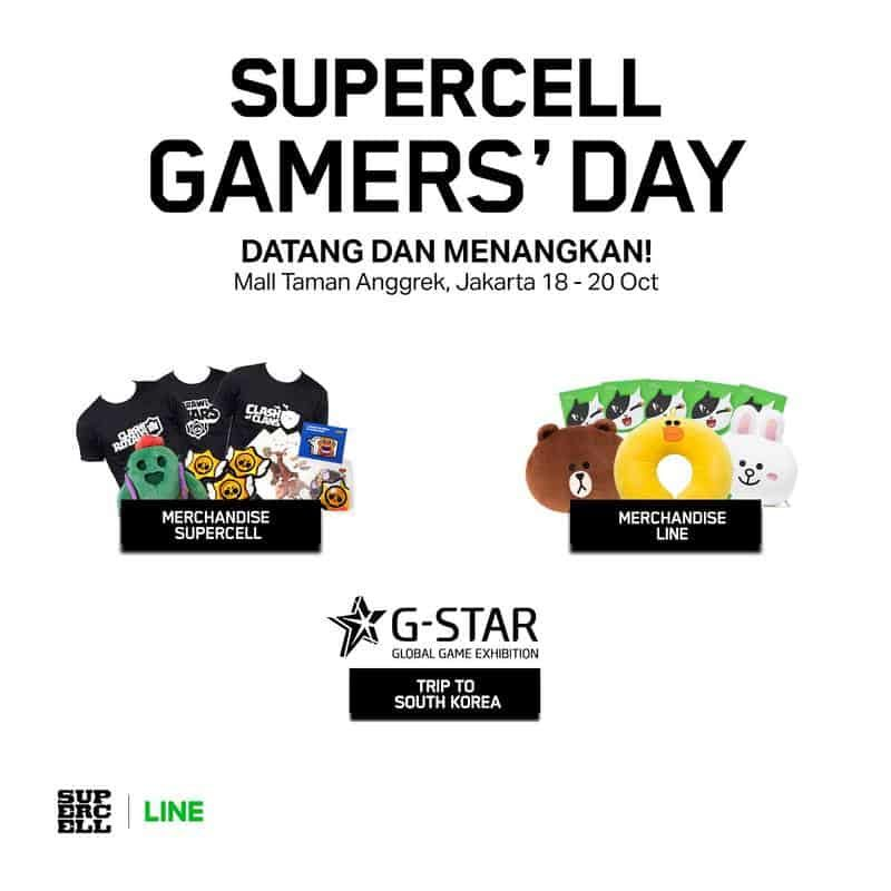 SUPERCELL Gamers Day 1
