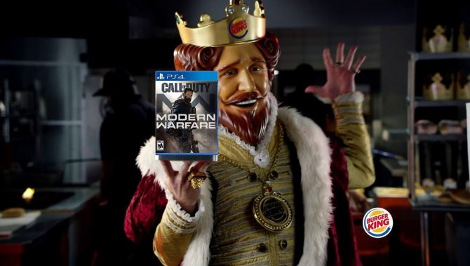 Call Of Duty Mw X Burger King