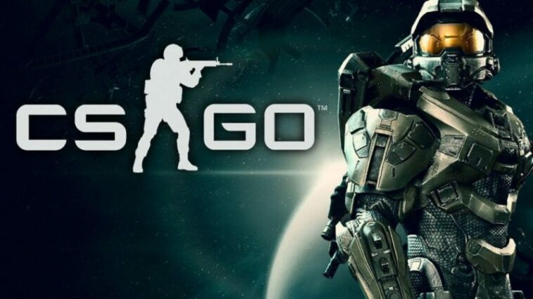 Counter Strike GO Resmi Kolaborasi Dengan HALO! Gamedaim