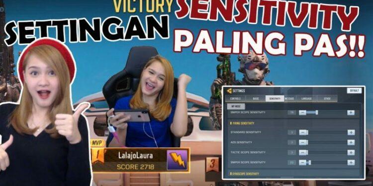 Settingan Sensitivitas Camera Call Of Duty Mobile Terbaik Dari Lalajo Laura! Gamedaim