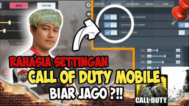 Settingan Sensitivitas Camera Call Of Duty Mobile Terbaik Dari Okky Ozora Mode Multiplayer! Gamedaim