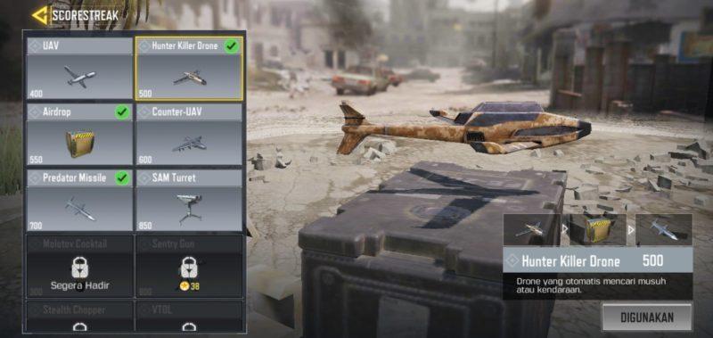 5 Scorestreak Terbaik Di Call Of Duty Mobile Hunter Killer