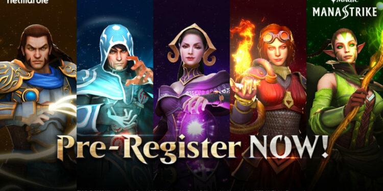 [Magic ManaStrike] Pra Registrasi Untuk Mobile Game Strategi Real Time Terbaru Netmarble Resmi Dibuka