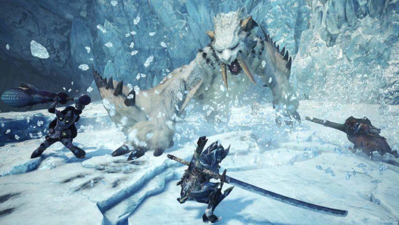 Penjualan Monster Hunter Worl Icerborne Tembus 4 Juta Kopi